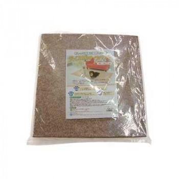 ペット用品 ディスメル タイルマット(消臭マット) 20枚組 45×45cm ブラウン OK492「他の商品と同梱不可/北海道、沖縄、離島別途送料」