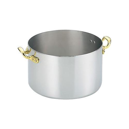 電磁両手鍋 深型 18cm 3460-1180「他の商品と同梱不可/北海道、沖縄、離島別途送料」