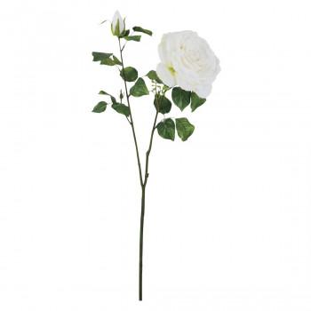 【代引不可】アーティフィシャルフラワー グランドローズ ホワイト 6本セット FD3371 アレンジメント「他の商品と同梱不可/北海道、沖縄、離島別途送料」