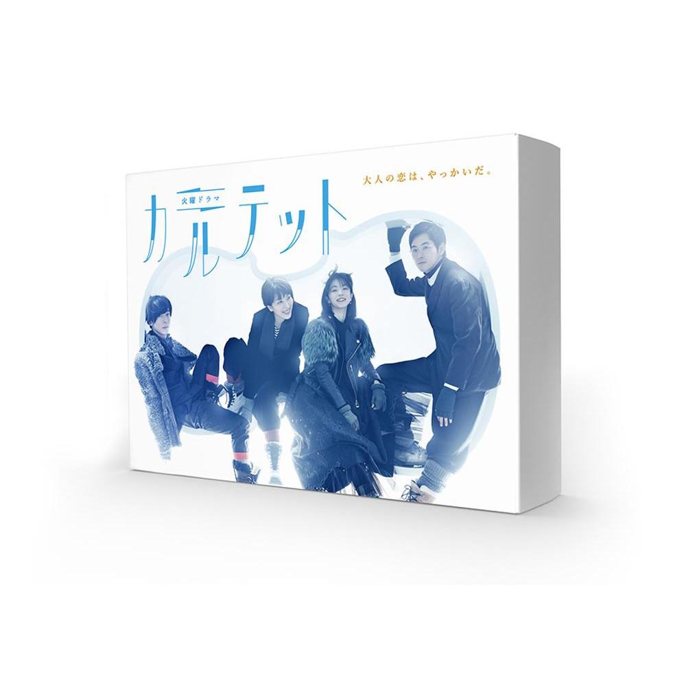 邦ドラマ カルテット DVD-BOX TCED-3548「他の商品と同梱不可/北海道、沖縄、離島別途送料」