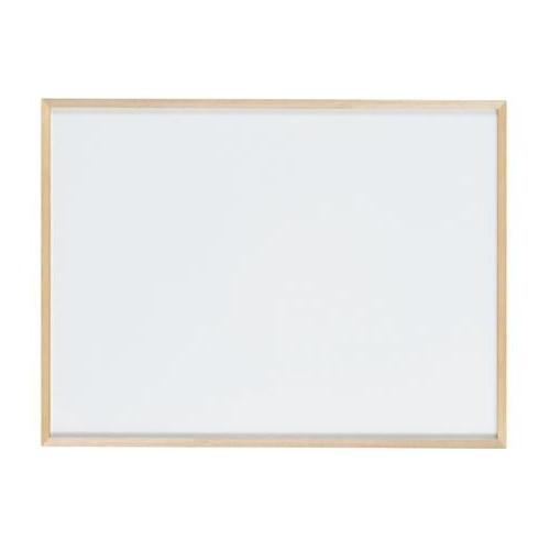 【代引不可】馬印 木枠ボード ホワイトボード 1200×900mm WOH34「他の商品と同梱不可/北海道、沖縄、離島別途送料」