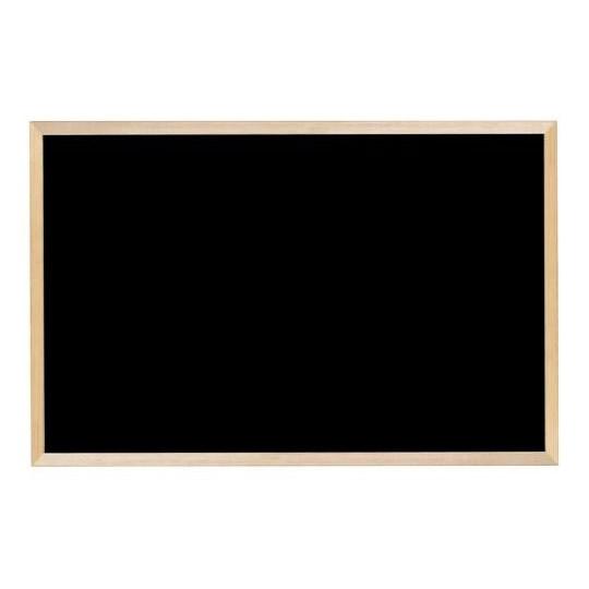 【代引不可】馬印 木枠ボード ブラックボード 900×600mm WOEB23「他の商品と同梱不可/北海道、沖縄、離島別途送料」