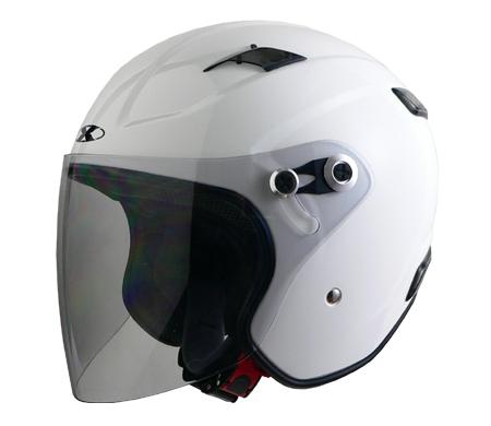 LEAD リード工業 XTREME JET X-AIR RAZZO-3 ホワイト Lサイズ 【NFR店】