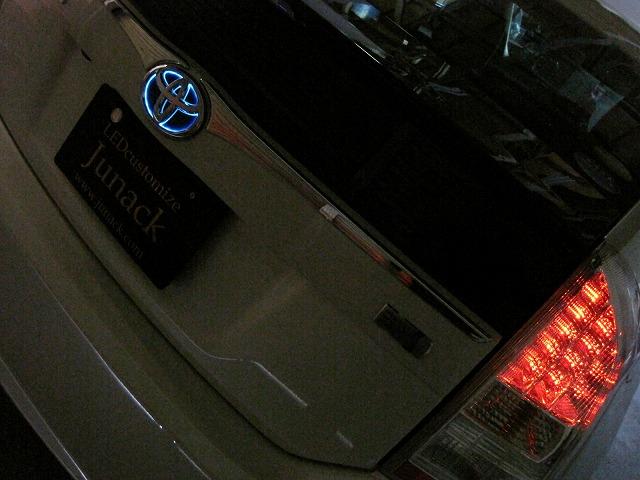 ■Junack ジュナック LEDトランスエンブレム リア LTE-T10 【NFR店】