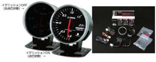 CUSCO クスコ レーシングメーター ブースト 00B700B 【NFR店】