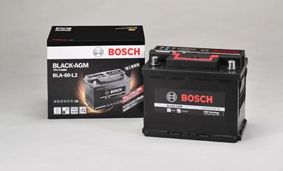 BOSCH ボッシュ 輸入車用 BLACK AGMバッテリー (AGMバッテリー) BLA-60-L2 【NFR店】