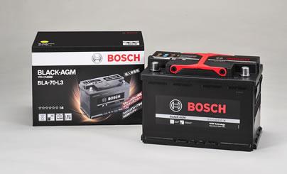 BOSCH ボッシュ 輸入車用 BLACK AGMバッテリー (AGMバッテリー) BLA-70-L3 【NFR店】