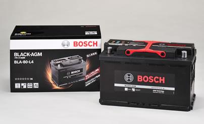 BOSCH ボッシュ 輸入車用 BLACK AGMバッテリー (AGMバッテリー) BLA-80-L4 【NFR店】