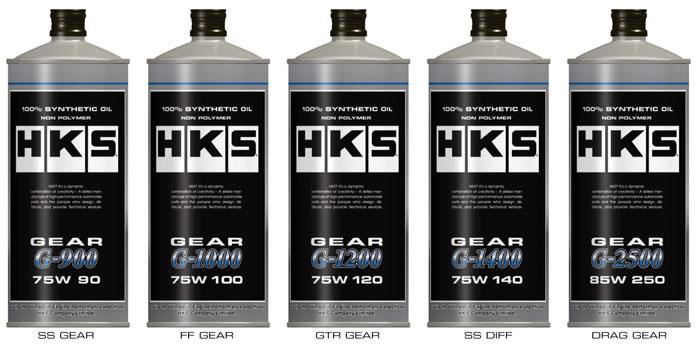 HKS ギアオイル Gシリーズ 75W-140 1L 6缶