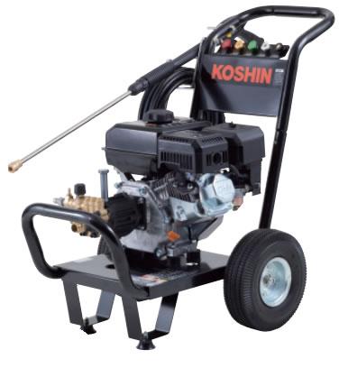 工進 コーシン エンジン式高圧洗浄機 キャリータイプ JCE-1408UDX
