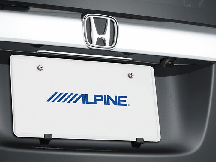 ALPINE アルパイン HDRステアリング連動カメラ C1000D N-BOXカスタム 黒 SGS-C1000D-NBC