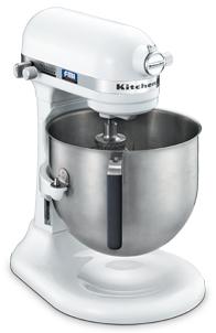 <欠品 予約順>【KK/代引不可>】KitchenAid キッチンエイド 泡立てる・混ぜる・練る スタンドミキサー KSM7WH 【ホワイト】