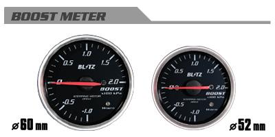 BLITZ ブリッツ レーシングメーターSD 60φ WHITE ブーストメーター 品番:19561 【NFR店】
