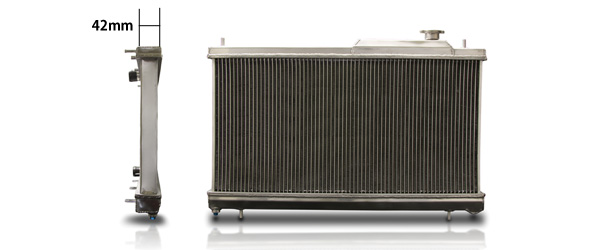 BLITZ ブリッツ レーシングラジエータ TypeZS  品番:18865 車種:ミツビシ コルトラリアートVer.R 年式:07/11- 型式:Z27AG エンジン型式:4G15 【NFR店】