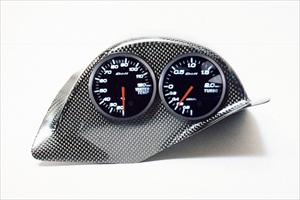KNIGHT SPORTS ナイトスポーツ COCKPIT METER HOOD コクピット・メーターフード カーボン KDD-26201  RX-7 FD3S 【NFR店】