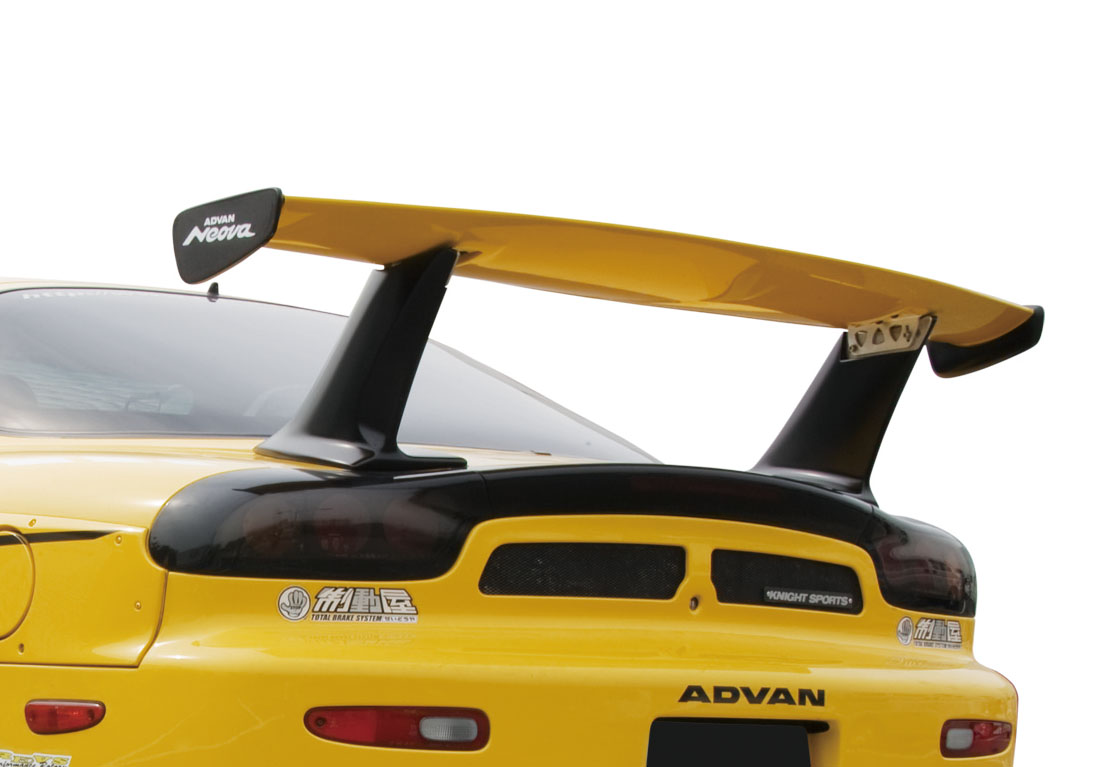 KNIGHT SPORTS ナイトスポーツ REAR WING SPOILER, GT-STYLE リアウィングスポイラー, GTスタイル KDE-72601 RX-7 FD3S 【NFR店】
