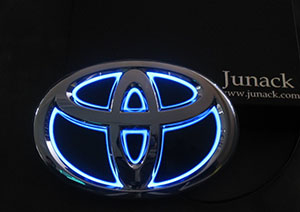 Junack ジュナック LEDトランスエンブレム フロント LTET18 【NFR店】