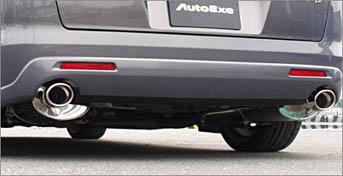 AutoExe オートエグゼ プレミアムテールマフラー (H22.4~生産車) 【MLX8Y00】 MPV LY3P 2WD 【NF店】