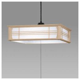 ☆日立 LED和風木枠ペンダントライト~12畳 LEP-CA1200EJ