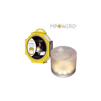 エムパワード ラックス インフレータブル LEDソーラーランタン MP-LUX