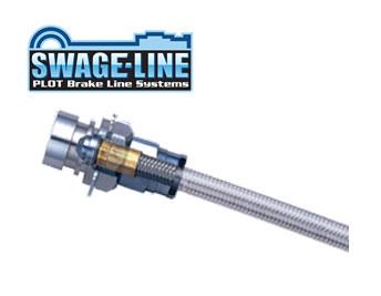 SWAGE-LINE スウェッジライン ブレーキホース スチール クリアホース デリカD5 CV1W 品番:ST4225N 【NF店】