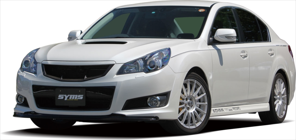 SYMS シムスレーシング フロントグリル FRP 品番:Y3000BM001 車種:レガシィ BM/BR