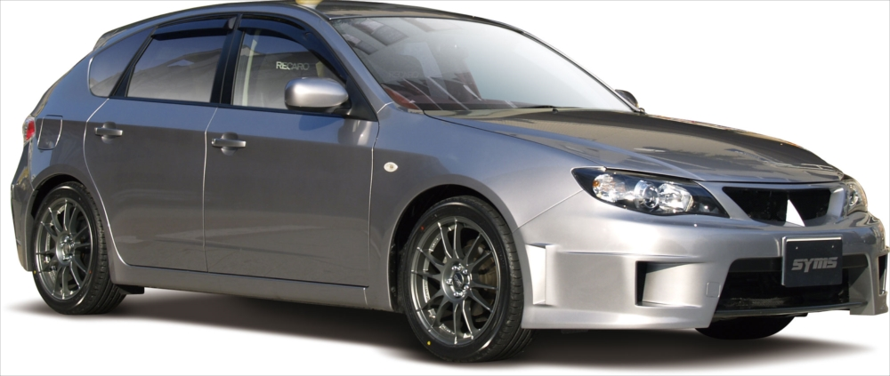 <代引不可>SYMS シムスレーシング GHインプレッサ エアロキット 品番:Y3000GH003 車種:インプレッサ GH系