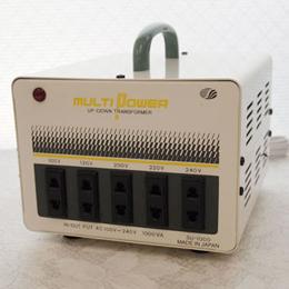 ☆スワロー電機 【受注生産のため納期約2週間】100~240V対応 マルチ変圧器 100W SU-1000