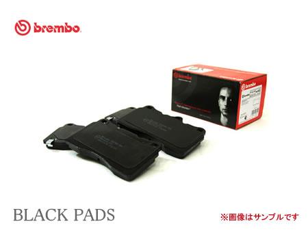 brembo ブレンボ ブラックブレーキパッド 品番:P85 037 フロント AUDI A4 (B6) (車台→8E_5_400000) 型式:8EBDV 年式:01/05~05/02 【NFR店】