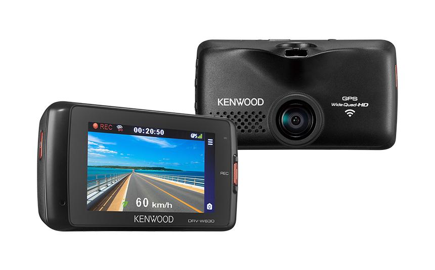KENWOOD ケンウッド 2.7インチドライブレコーダー 無線LAN付 DRV-W630 【NFR店】