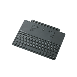 ☆エレコム Bluetoothキーボード/9.7インチiPad用/オートスリープ機能付/シルバー TK-FBP068ISV4