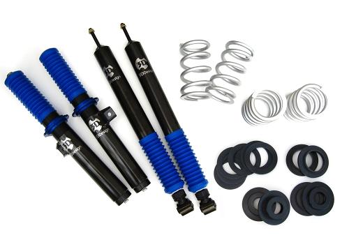 3D Design BMW 車高調キット 20段減衰力調整式 品番:1101-14621 3シリーズ E46 320i 325i 330i