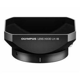 ☆OLYMPUS 金属レンズフード ブラック LH-48-BLK LH48BLK