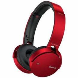 ☆ソニー MDRXB650BTRZ Bluetooth対応ワイヤレスステレオヘッドセット(レッド)