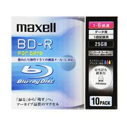 ☆maxell BLU-RAY DISC BR25PWPC.10S