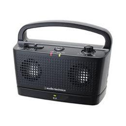 ☆Audio-Technica オーディオテクニカ デジタルワイヤレスステレオスピーカーシステム(ブラック) AT-SP767TV BK