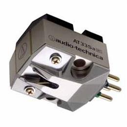 ☆Audio-Technica オーディオテクニカ MC型(デュアルムービングコイル)ステレオカートリッジ AT33Sa