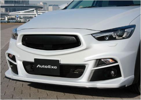 AutoExe オートエグゼ MDK2F00 Fバンパー&グリル CX-3 DK全車 【NFR店】