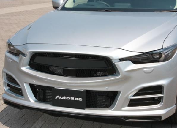 AutoExe オートエグゼ MKF2F00 Fバンパー&グリル CX-5 KF全車 【NFR店】