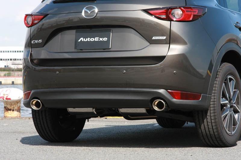 AutoExe オートエグゼ MKF8Y10 プレミアムテールマフラー CX-5 KF(ガソリン2.5L車) 【NFR店】
