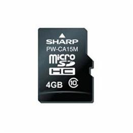 ☆SHARP PW-CA15M 電子辞書コンテンツカード 音声付/ドイツ語辞書カード(microSDHC)