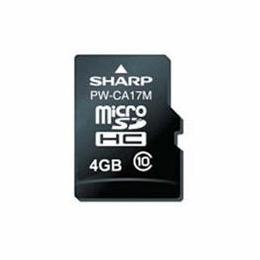 ☆SHARP PW-CA17M 電子辞書コンテンツカード 音声付/フランス語辞書カード(microSDHC)