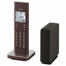 ☆SHARP JD-XF1CL-T デジタルコードレス電話機(ブラウン系)
