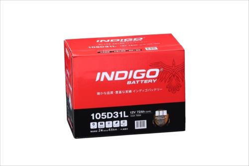 インディゴバッテリー国産車用CMF105D31L105D31L2年4万キロ保証能