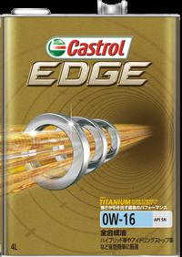 Castrol カストロール EDGE 0W16 SN 1L 6本セット(1ケース) 【NFR店】