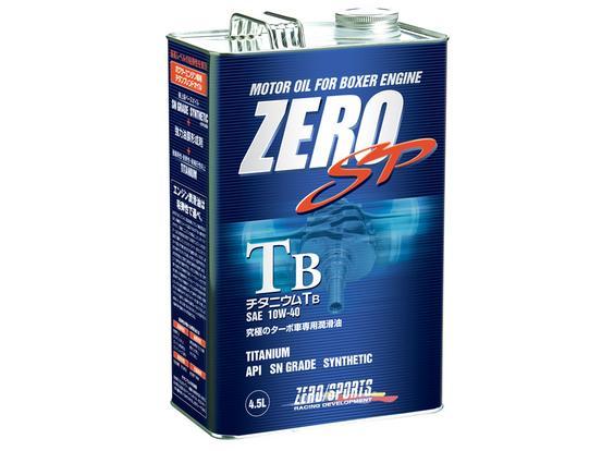 ZERO SPORTS ゼロスポーツ ZERO SP チタニウムエンジンオイル TB 4.5L×4缶セット 10W-40