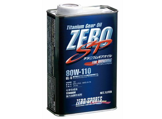 ZERO SPORTS ゼロスポーツ ZERO SP チタニウムギアオイル 1L×12缶セット 80W-110