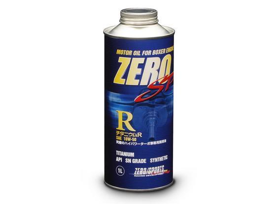 ZERO SPORTS ゼロスポーツ ZERO SP チタニウムR 1L×20缶セット 10W-50 【NFR店】