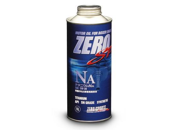 ZERO SPORTS ゼロスポーツ ZERO SP チタニウムNA 1L×20缶セット 5W-30 【NFR店】