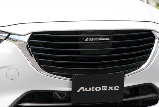 AutoExe オートエグゼ MDK2510 フロントグリルガーニッシュ CX-3 DK系 【NFR店】